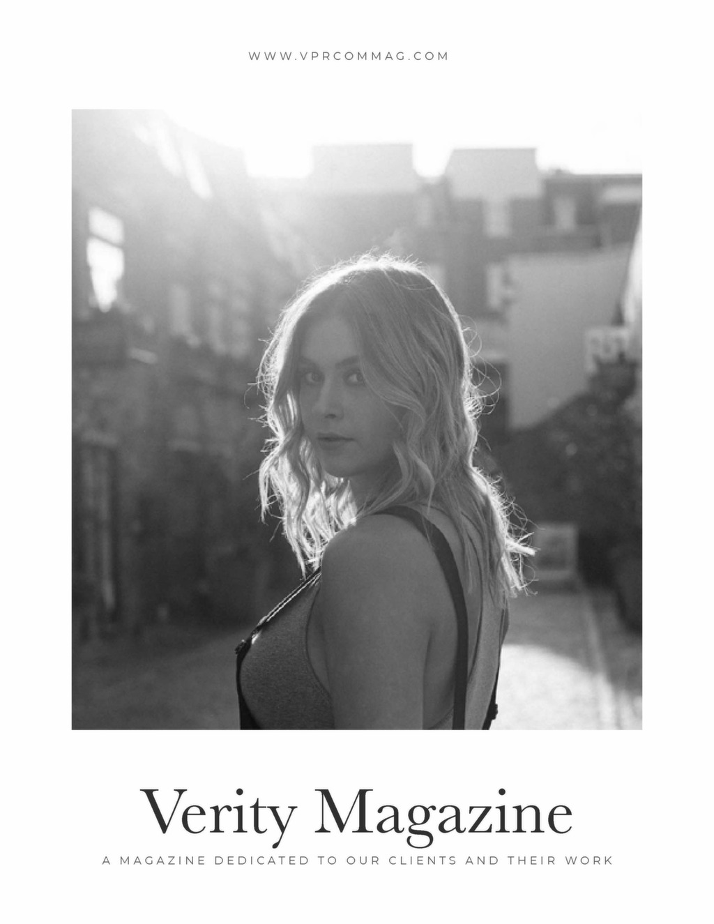 Verity Portfolio Issue 1